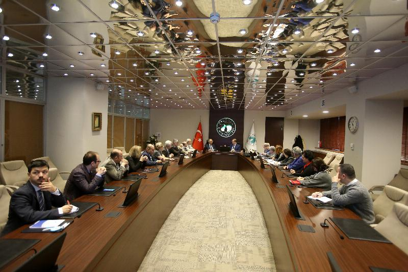 Higher Education Quality Board visited Üsküdar University