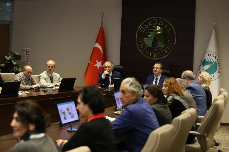 Higher Education Quality Board visited Üsküdar University 2
