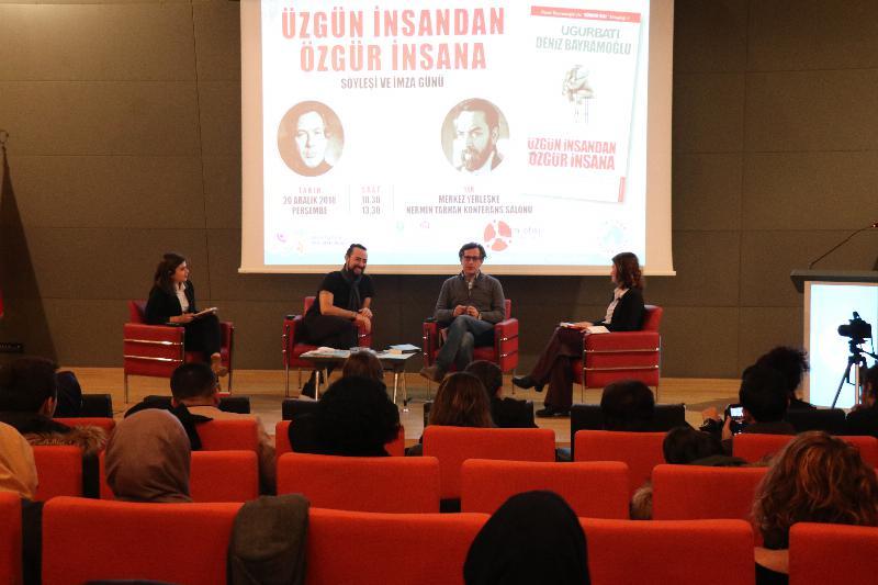 Prof. Dr. Uğur Batı ve Deniz Bayramoğlu ile 'Üzgün insandan özgür insana' söyleşisi