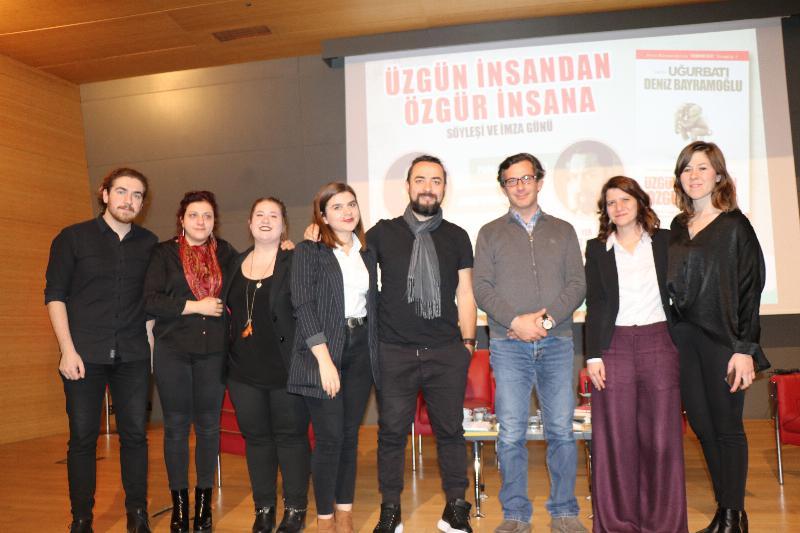 Prof. Dr. Uğur Batı ve Deniz Bayramoğlu ile 'Üzgün insandan özgür insana' söyleşisi 3