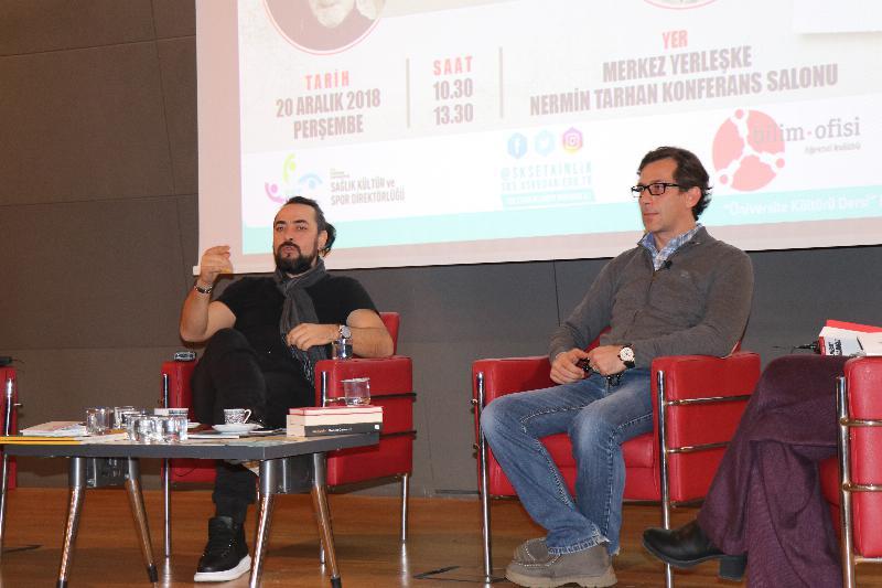 Prof. Dr. Uğur Batı ve Deniz Bayramoğlu ile 'Üzgün insandan özgür insana' söyleşisi 2