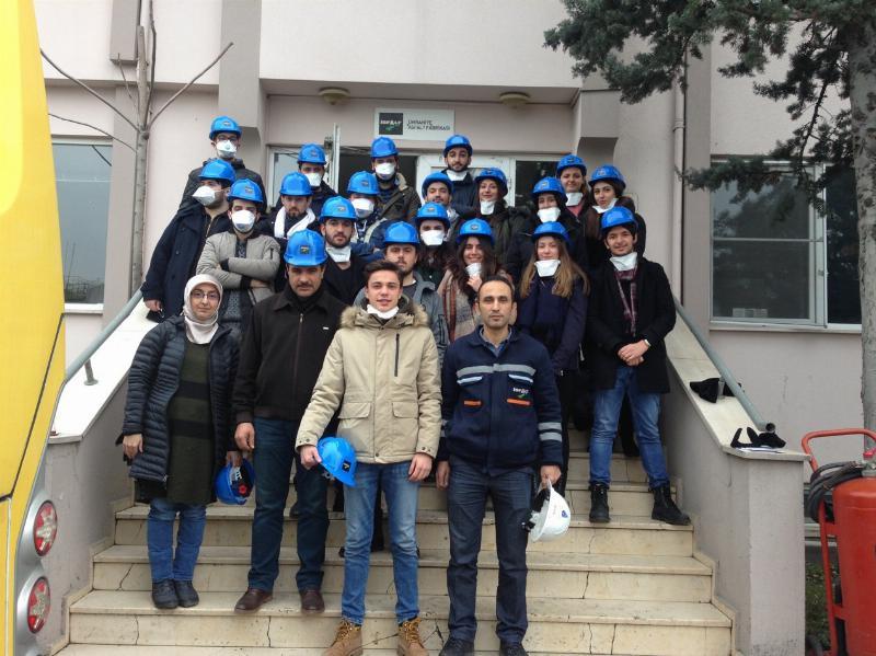 İSG öğrencileri İSFALT Ümraniye Şantiyesini ziyaret etti 2