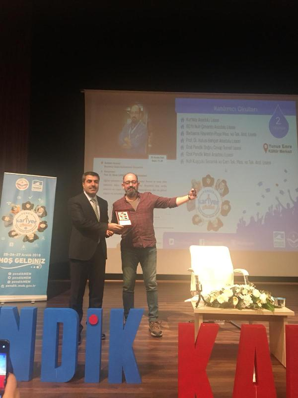 Prof. Dr. Sinan Canan Pendik'te öğrencilerle buluştu 2