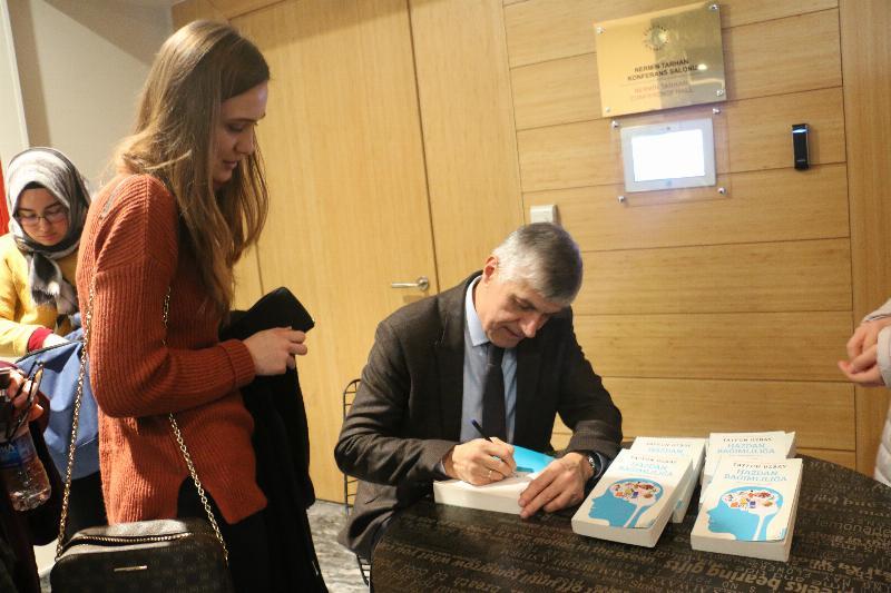 """Prof. Dr. Tayfun Uzbay: """"Hazlarınız sizi değil siz hazlarınızı yöneteceksiniz!"""" 4"""