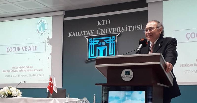 """Prof. Dr. Tarhan: """"Dünyada çocuk ve aile sebebiyle medeniyet krizi yaşanıyor"""" 2"""