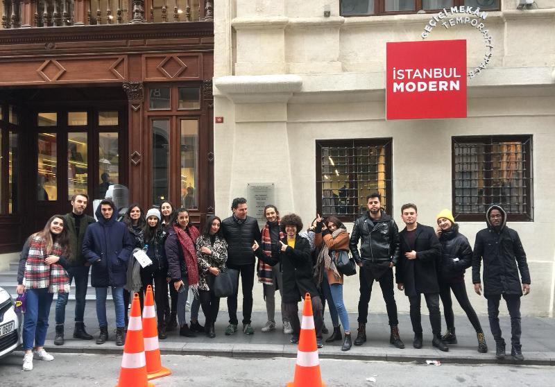 Üsküdar İletişim İstanbul Modern'de 4