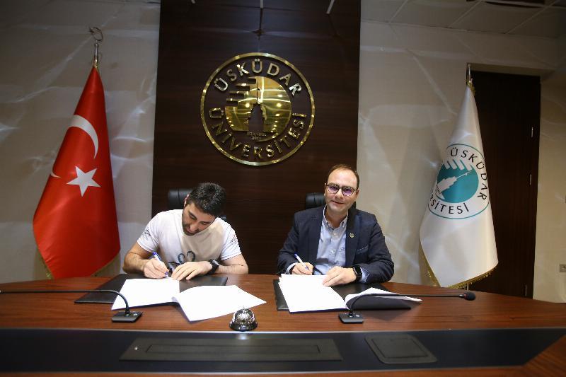 Üsküdar Üniversitesi ile Ahtapot Gönüllüleri Derneği arasında işbirliği 2