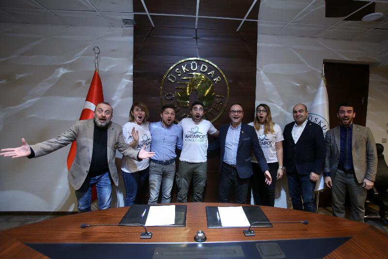 Üsküdar Üniversitesi ile Ahtapot Gönüllüleri Derneği arasında işbirliği 3