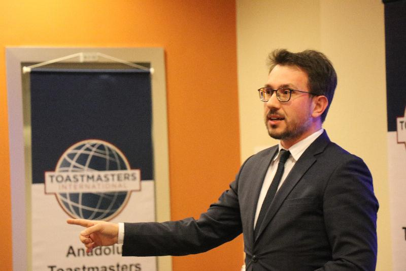 Anadolu Toastmasters Kulübü Üsküdar Üniversitesinde