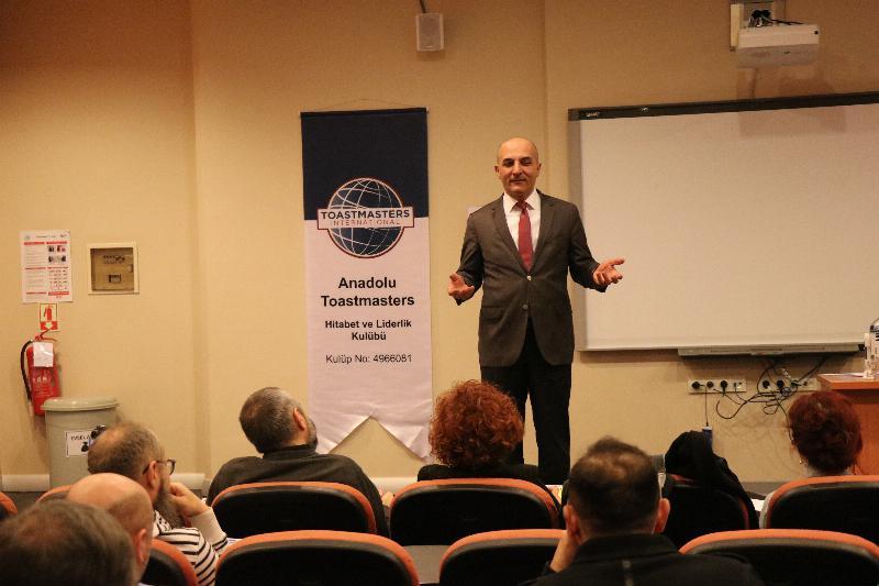 Anadolu Toastmasters Kulübü Üsküdar Üniversitesinde 4
