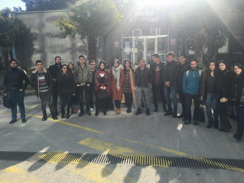 SHMYO öğrencileri TRIGA Mark II Eğitim ve Araştırma Reaktörünü ziyaret etti