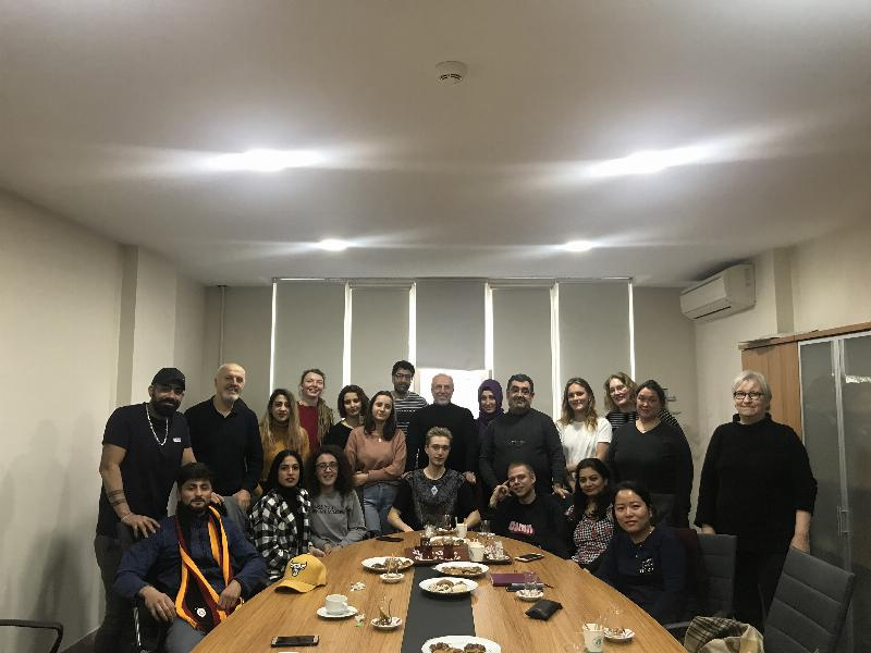 Students from University of College Copenhagen visited Üsküdar University 2