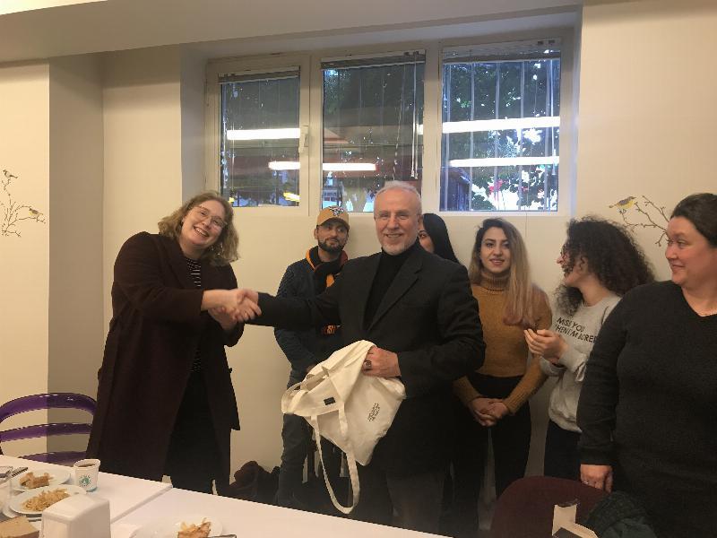University of College Copenhagen öğrencileri Üsküdar'ı ziyaret etti