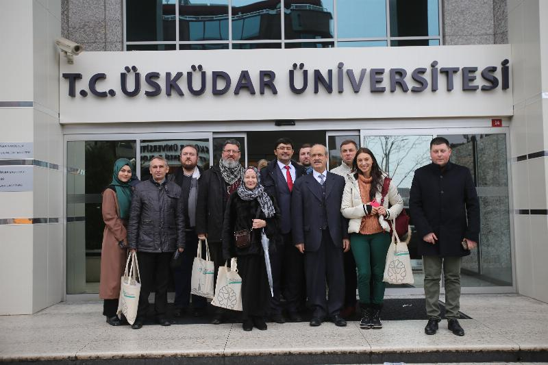 Russian and Ukrainian academic committee visited Üsküdar University 3