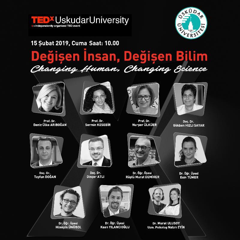 TEDx buluşmaları, 2. kez Üsküdar Üniversitesinde!