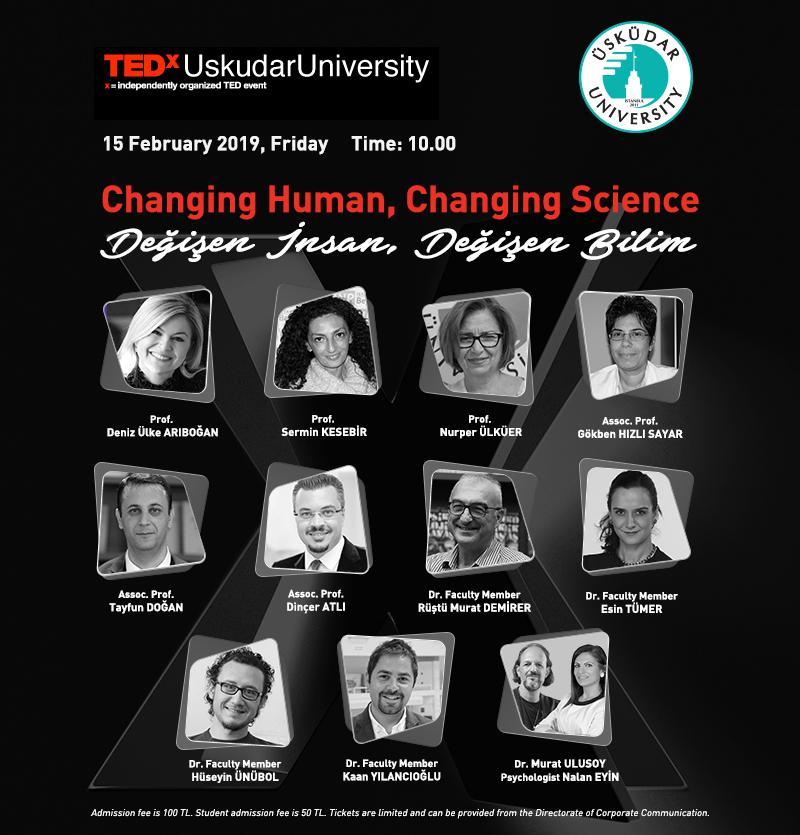 Üsküdar University's 2. TEDx Conference!