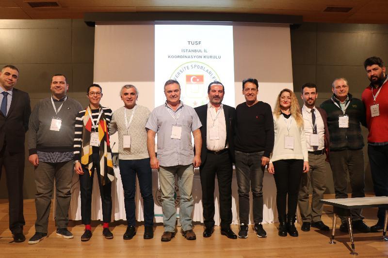 Üsküdar Üniversitesi Türkiye Üniversite Sporları Federasyonu İstanbul Koordinasyon Kurulunda