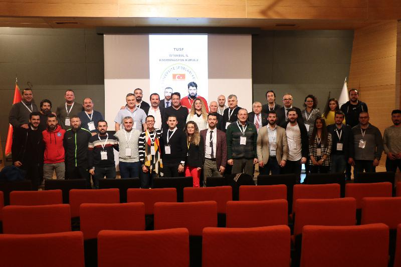 Üsküdar Üniversitesi Türkiye Üniversite Sporları Federasyonu İstanbul Koordinasyon Kurulunda 3