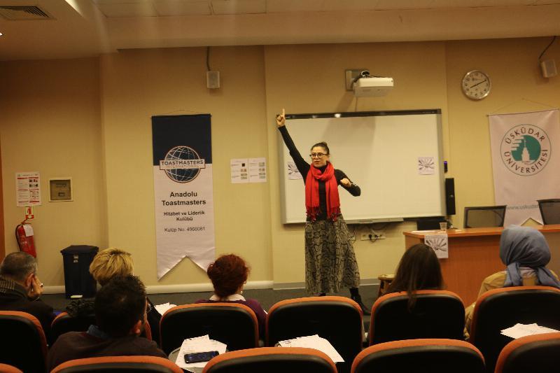 Anadolu Toastmasters Kulübü ikinci kez Üsküdar Üniversitesinde
