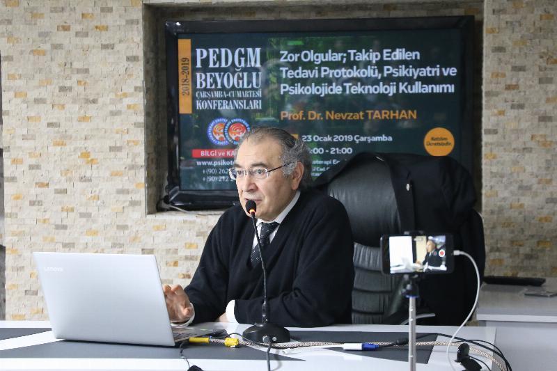 Prof. Dr. Nevzat Tarhan 3'üncü defa Beyoğlu Psikoterapi söyleşilerinde 2