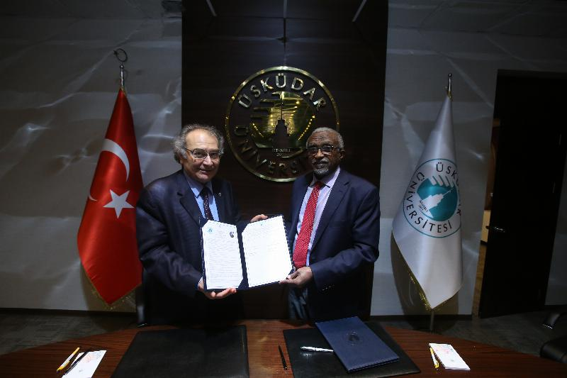 Üsküdar University signed a cooperation agreement with Sudan's University of Khartoum