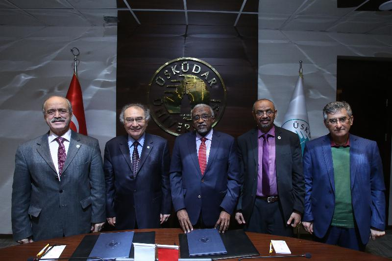 Üsküdar University signed a cooperation agreement with Sudan's University of Khartoum 3