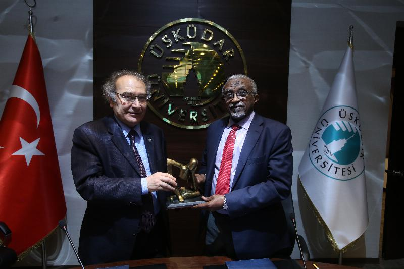 Üsküdar University signed a cooperation agreement with Sudan's University of Khartoum 2