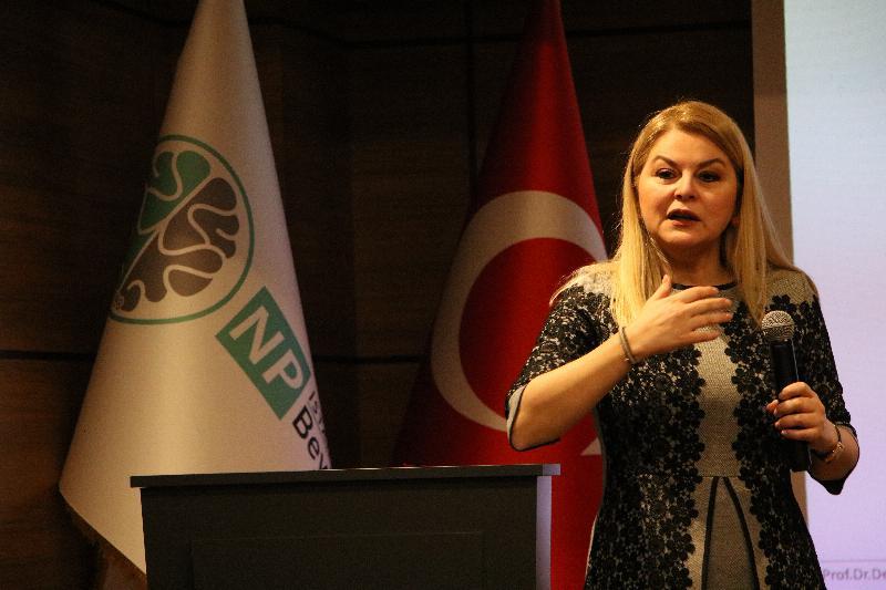 Prof. Dr. Deniz Ülke Arıboğan NPİSTANBUL Beyin Hastanesinde 2