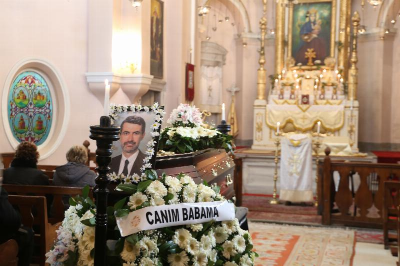 Prof. Levon Antikacıoğlu's funeral ceremony