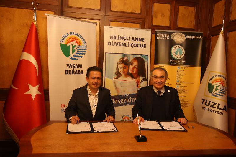 Üsküdar Üniversitesi ve Tuzla Belediyesi çocuklar için bir arada