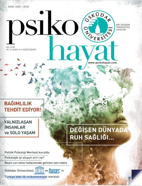 Psikohayat Dergisi 19. sayısı ile yayında