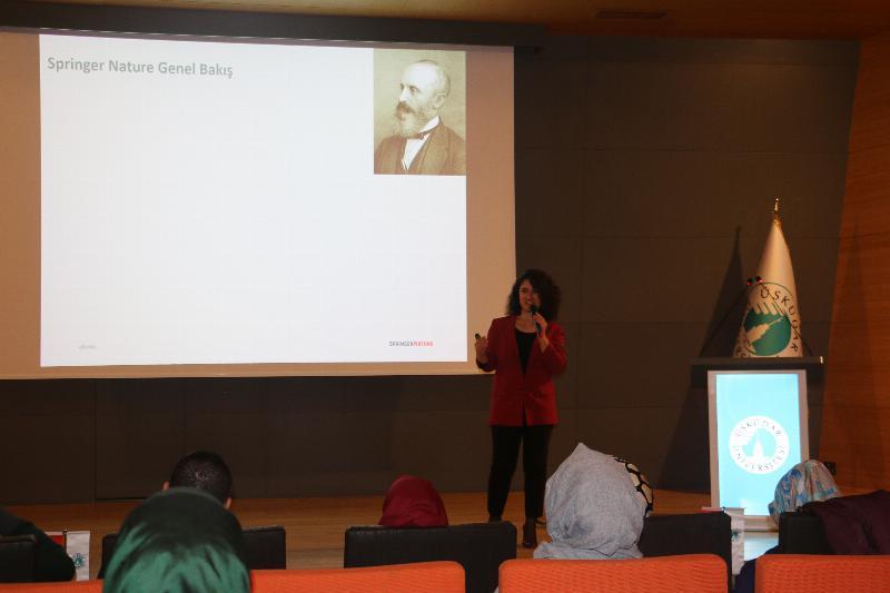 Springer Nature çalıştayı Üsküdar'da yapıldı