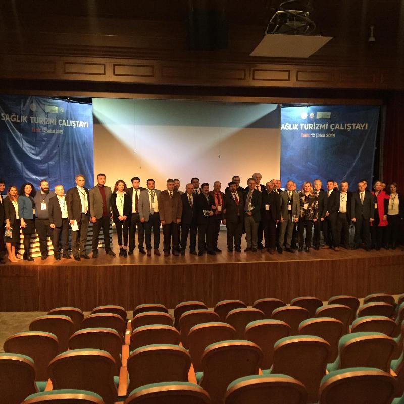 Prof. Dr. Haydar Sur Sağlık Turizmi Çalıştayına katıldı