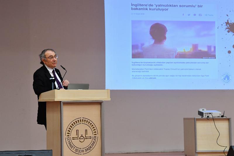 Prof. Dr. Nevzat Tarhan Diyanet çalışanlarıyla buluştu 2