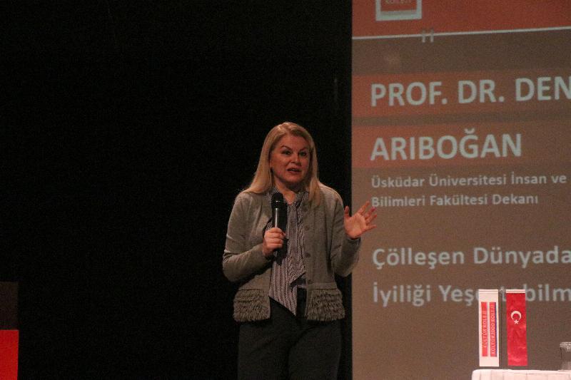 """Prof. Dr. Arıboğan: """"Her insan iyi ve kötüdür, hangisinin ortaya çıkacağını insan kendi belirler"""" 2"""