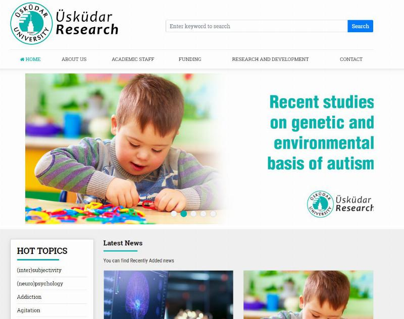 PlumX and Altmetrics applications used for the first time by Üsküdar University