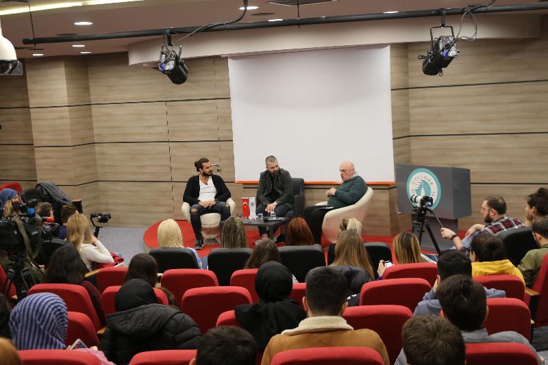 Üsküdar Üniversitesi medyadan iki ismi misafir etti