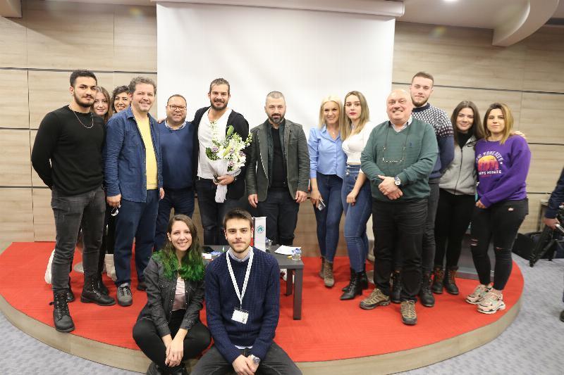 Üsküdar Üniversitesi medyadan iki ismi misafir etti 4