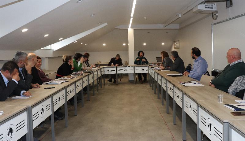 İletişim eğitiminde vizyon ve kalite geliştirme toplantısı yapıldı