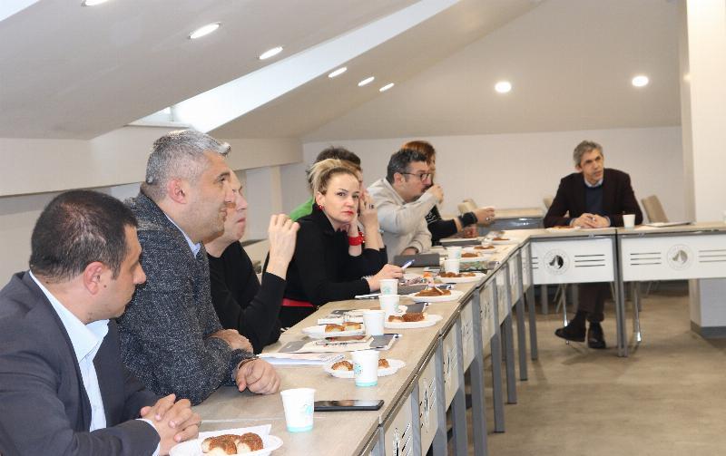 İletişim eğitiminde vizyon ve kalite geliştirme toplantısı yapıldı 5