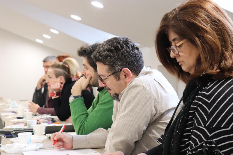 İletişim eğitiminde vizyon ve kalite geliştirme toplantısı yapıldı 4