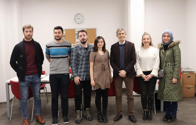 Yeni Medya ve Gazetecilik Bölümü mezunlarıyla buluştu 2