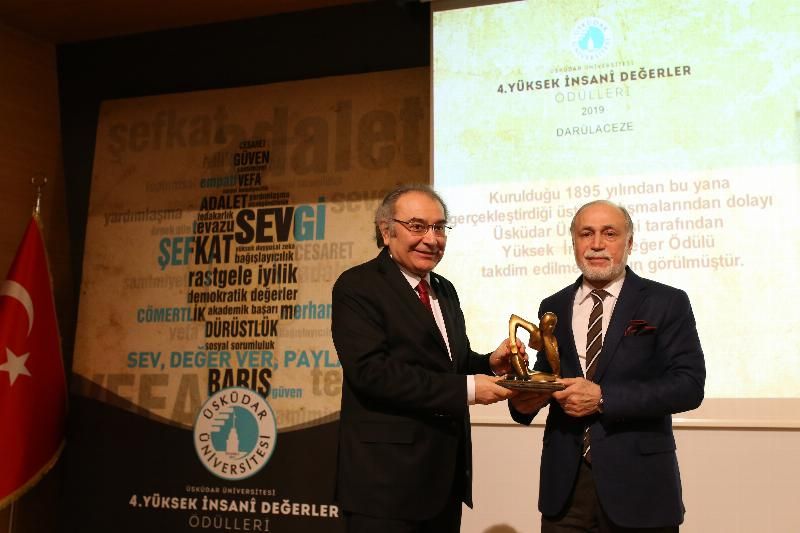 Üsküdar University awarded 'Outstanding Humanitarian Values' for the 4th time 5