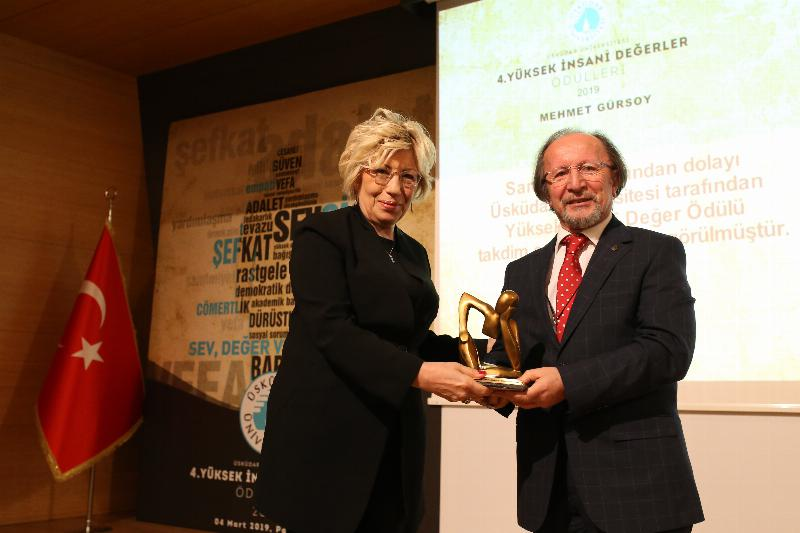Üsküdar University awarded 'Outstanding Humanitarian Values' for the 4th time 6