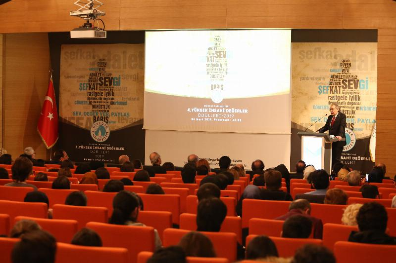 Üsküdar University awarded 'Outstanding Humanitarian Values' for the 4th time