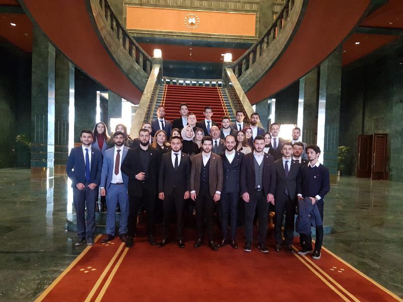 Üsküdar Üniversitesi öğrencisi Külliyeyi ziyaret etti 3