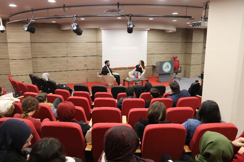 Üsküdar Üniversitesinde sinema ve sektör konuşuldu