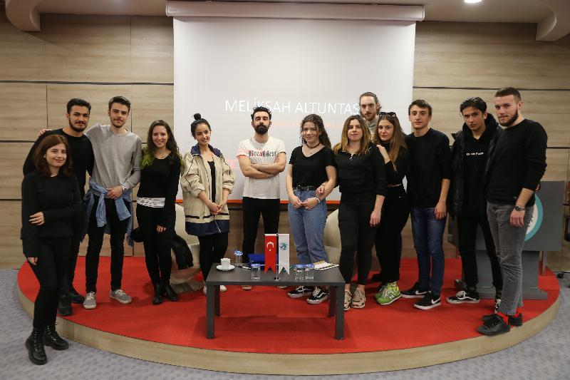 Üsküdar Üniversitesinde sinema ve sektör konuşuldu 4