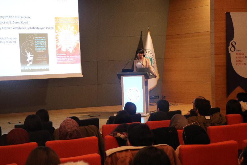 """Üsküdar Üniversitesinde """"Kulak İzi ve Kulak Kalıbı"""" semineri gerçekleştirildi"""