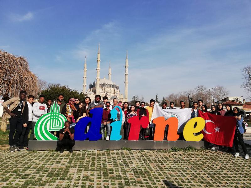 Üsküdar Üniversitesi öğrencileri Edirne'de